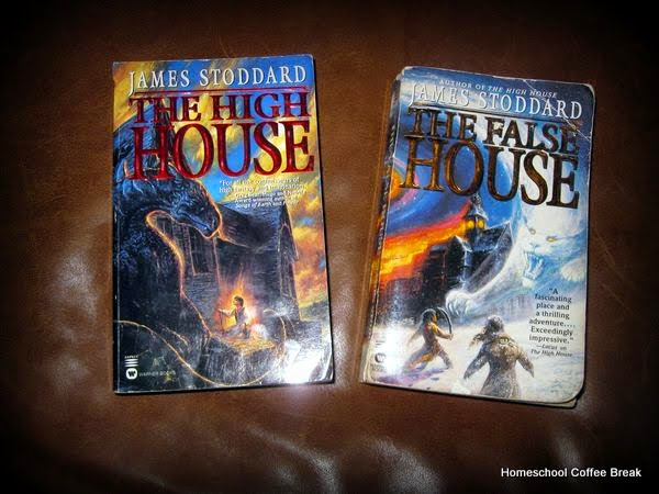 """The High House/The False House by James Stoddard - featured on Favorite Reads - A list of just a tiny sampling of my favorite books, compiled for the Schoolhouse Review Crew round-up """"Our Favorite Books"""" - Find my list on Homeschool Coffee Break @ kympossibleblog.blogspot.com"""