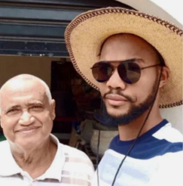 SO SAD!!! Ex-BBNaija Housemate Star Joe Loses His Dad