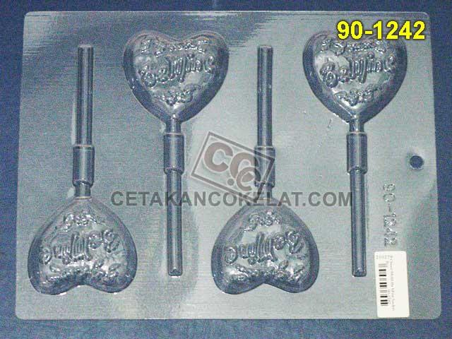 Cetakan Coklat cokelat lolipop 90-1242