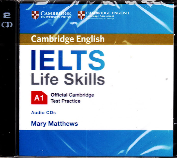 Details about Official Cambridge English IELTS LIFE SKILLS A1 Test Practice  Audio CD's @NEW@
