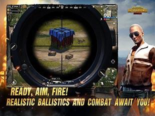 لعبة حرب جماعية PUBG MOBILE
