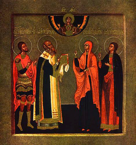 Venerable Eupraxia Of Tabenna In Egypt