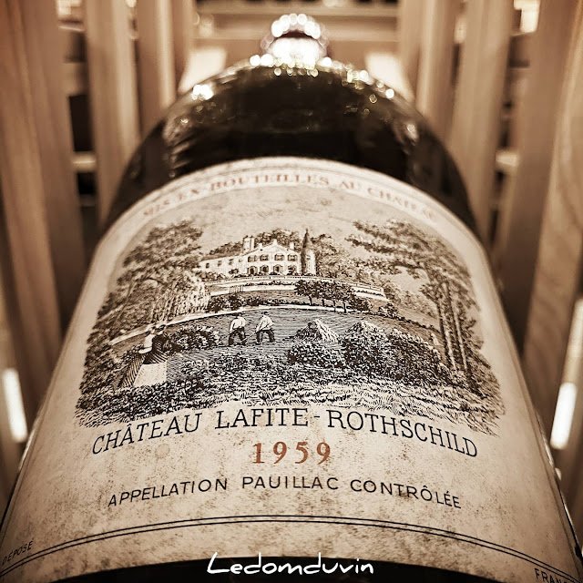 Ripples..... Château Lafite Rothschild 1959 Jeroboam (5L) by and for ©LeDomduVin 2021
