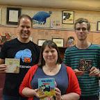 Authors Dr. John Hutton, Noelle Dingeldein, and Andrew Neyer