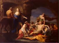 Κένταυρος Χείρων,Θέτις,άρρωστος Αχιλλέας,Centaur Chiron,Thetis,sick Achilles