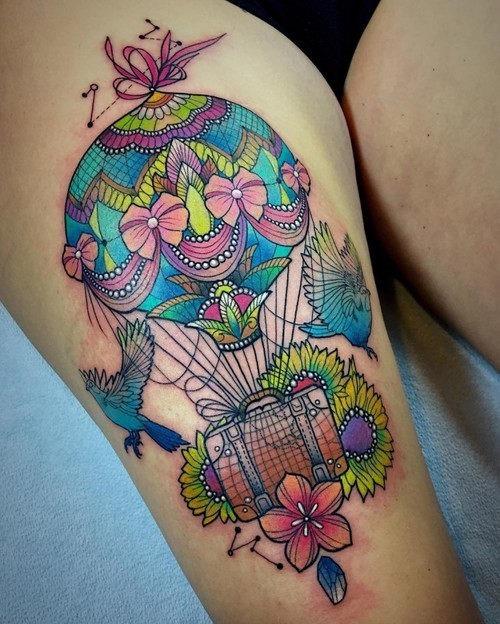 esta_intrincada_de_balo_de_ar_quente_tatuagem