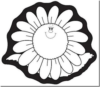 flore sencillas para colorear  (5)