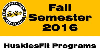 Fall 2016 HuskiesFit Program Guide