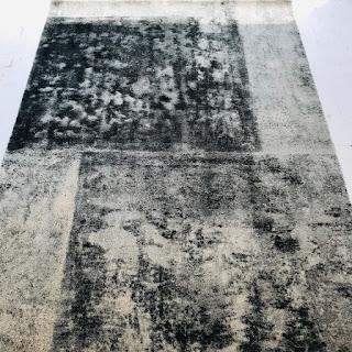 West Elm Rococo Printed Wool Area Rug