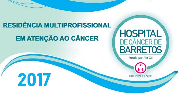 Residência Biomedicina Hospital de Câncer de Barretos