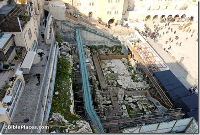 Western Wall prayer plaza excavations, tb010312518