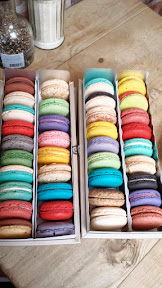 Macaroons from Cafe Concerto