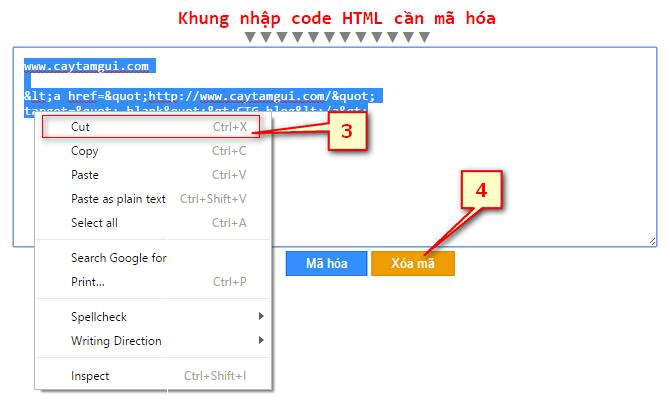 Bảng mã hóa code HTML cho Blogger templates XML