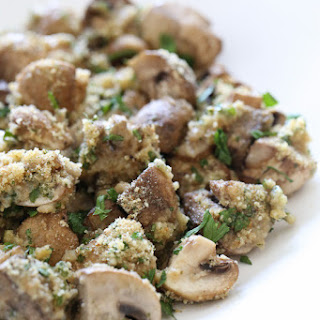 Dina's Tossed Mushrooms.