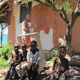 Vrijwilligershuisje schilderen