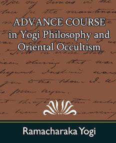 Cover of Yogi Ramacharaka's Book Yogi Philosophy