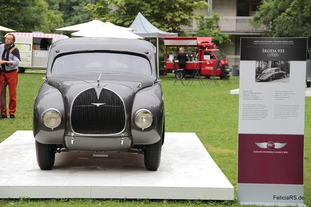 Škoda 935 Prototype mit Stromlinienkarosserie und 2 Liter Wassergekühlten 4 Zylinder Boxermittelmotor und 55PS
