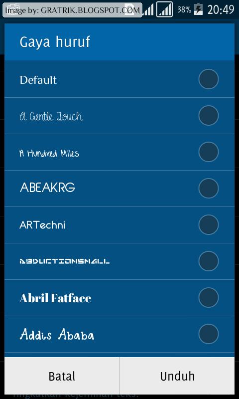 Samsung Sans Font Pack APK (> 1000 Fonts Included