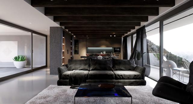 Một số mẫu thiết kế nội thất hiện đại cho phòng khách đơn giản