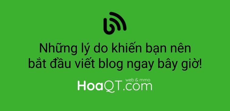 Hinh anh: Vi sao nen viet blog