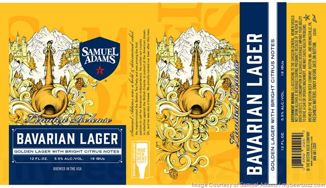 Samuel Adams Adding Bavarian lager Cans