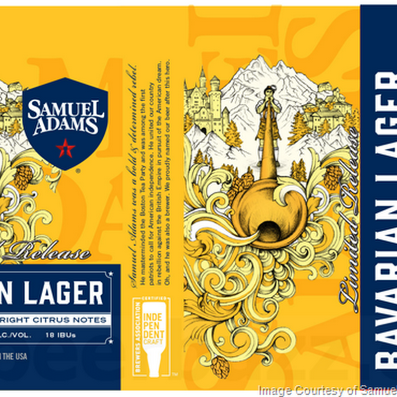 Samuel Adams Adding Bavarian Lager Cans & Bottles