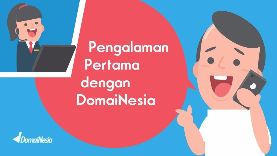 Pengalaman Pertama Memakai Domain Dari DomaiNesia