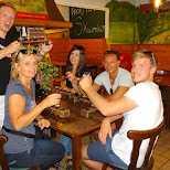 my family and I enjoying beers on Texel in Texel, Noord Holland, Netherlands