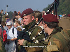 Britse parachutisten van de 1ste Airborne divisie - Ginkelse heide 19 september 2009