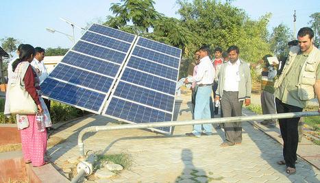 Residentes Rurales En La India Adoptan La Energía Solar