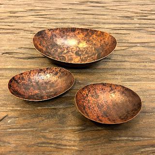 Copper Bowl Trio