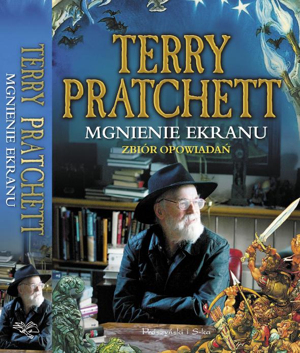 okładka Mgnienia Ekranu Terrego Pratchetta