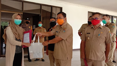 3 Orang Pasien Sembuh Dari Covid19 Dipulangkan Tim Gugus Tugas Kabupaten Sekadau