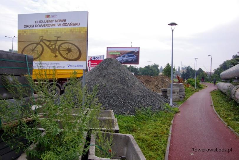 Gdańsk pozyskuje unijne pieniądze na budowanie dróg dla rowerów.