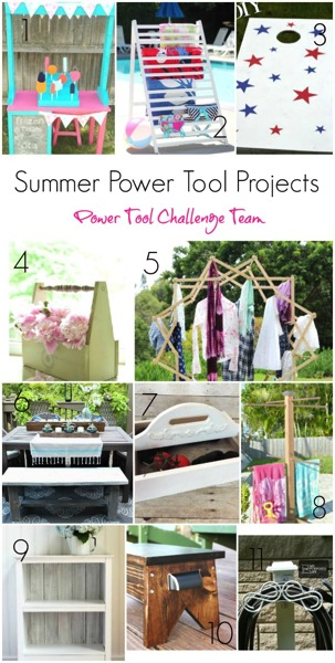 Power Tool Challenge Team Summer Themed Projects