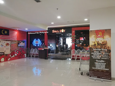 Shell Out, Main Place Shopping Mall USJ 21 Food Review - Sebrinah Yeo