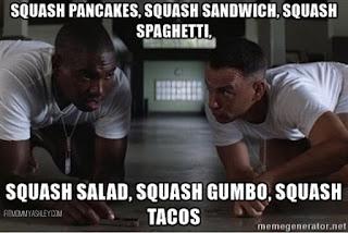 squash, forrest gump, bubba gump, so much, recipes, stuffed, spaghetti, turkey, delicious, 21 day fix
