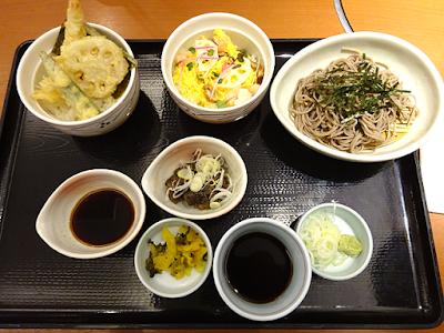 よくばり天ぷらセット