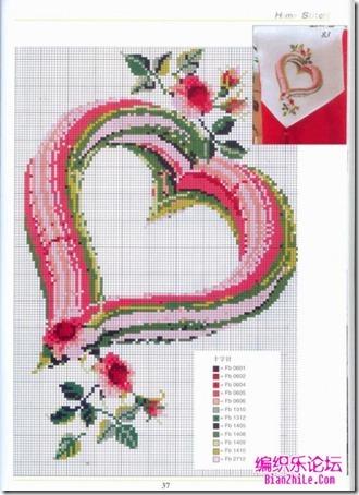 corazones en punto de cruz laborespuntocruz (14)