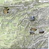 Localisation des photos Tadjikistan 2009
