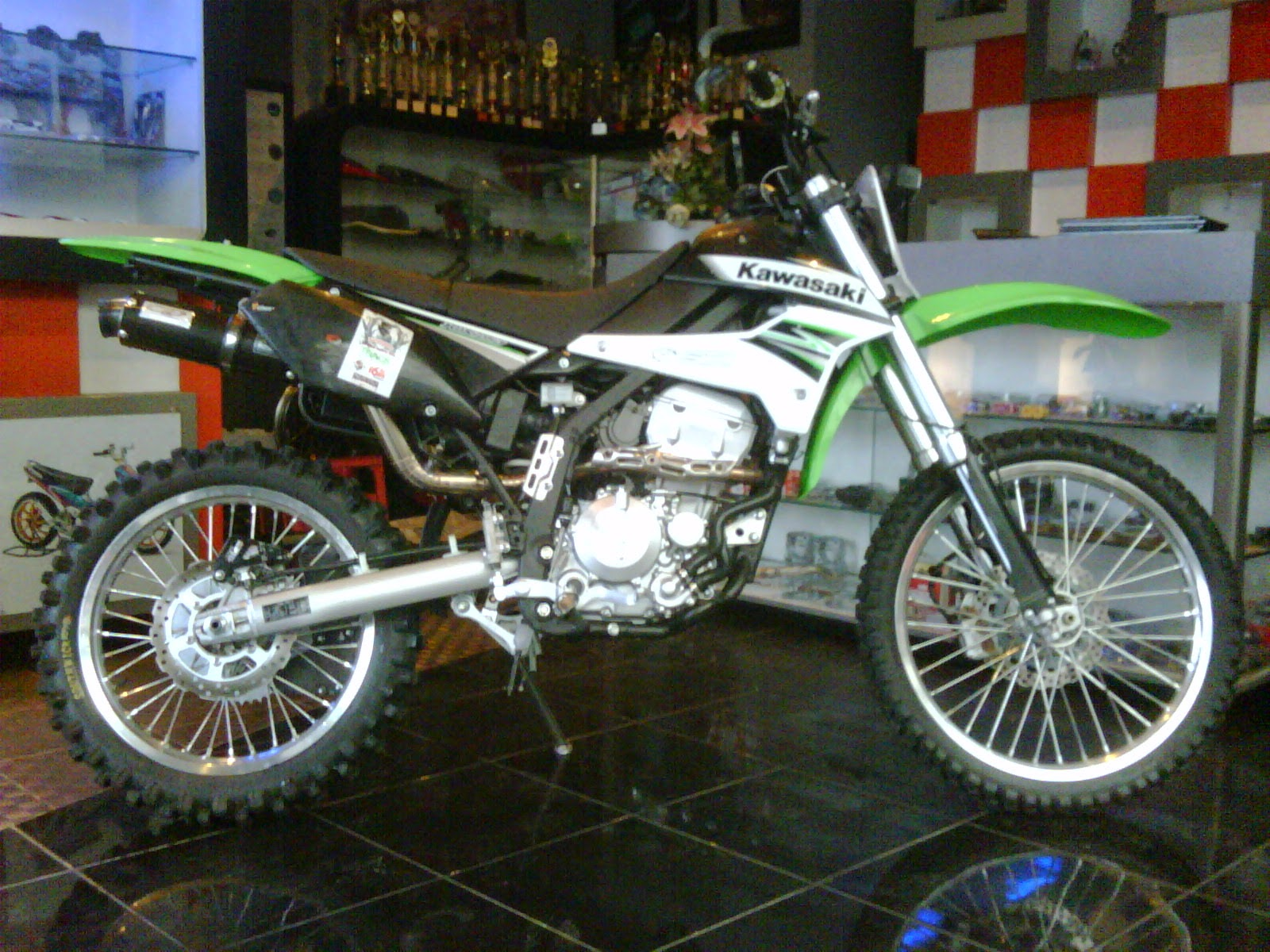 Modifikasi Klx 150  Holidays OO