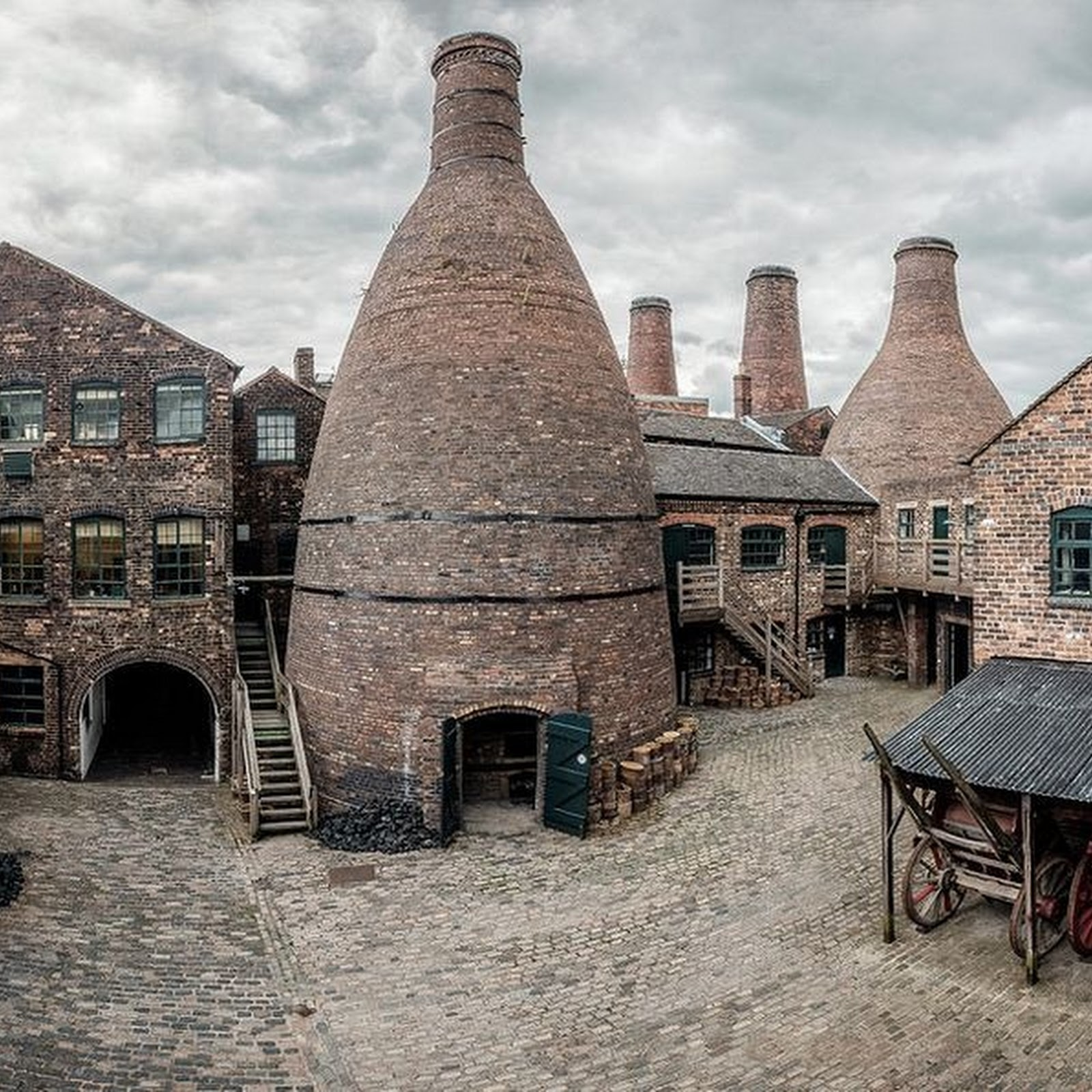 The Potteries of Staffordshire