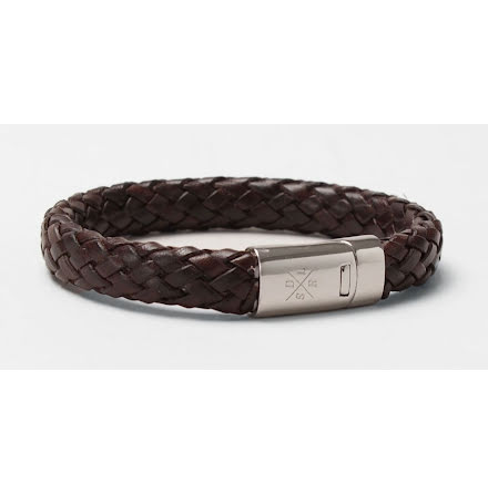 Saddler bracelet dark brown 10676