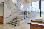 Algonquin Staircase, Tile Floor and Wall Panels