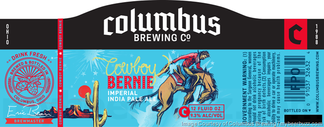 Columbus Brewing - Cowboy Bernie