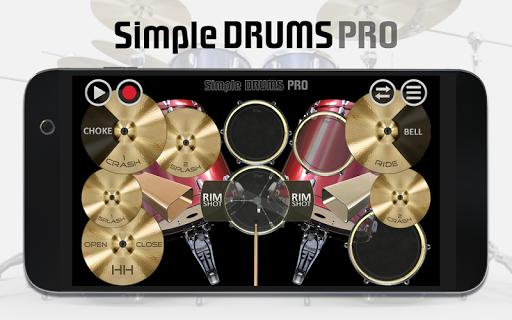 Simple Drums Pro - The Complete Drum App 1.1.7 screenshots 1