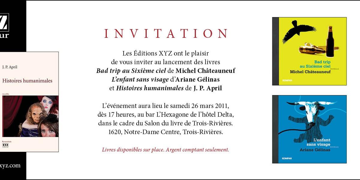 Interf rences d dicaces et lancement - Invitation salon du livre ...