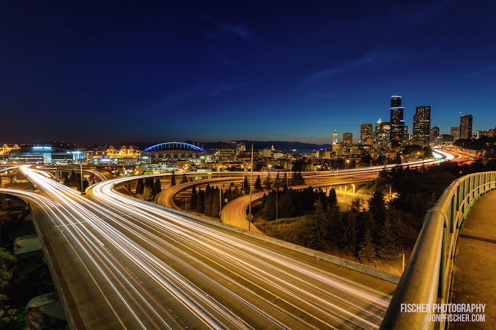 Rizal Bridge Light Trails