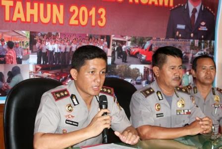 Pengamanan tahun baru 2014