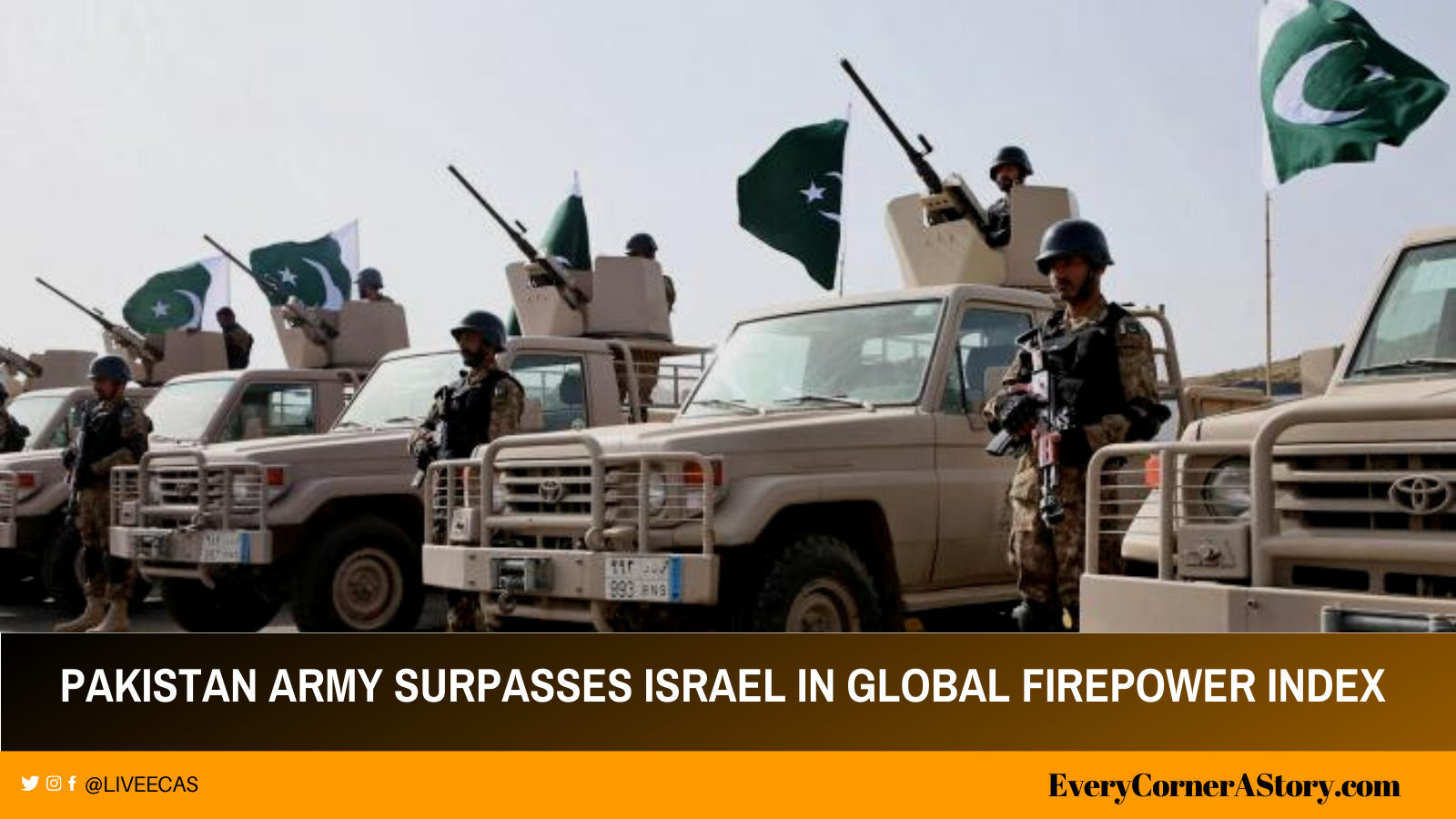 pakistan army ranks in top 10 surpasses israel india ranks fourth every corner a story